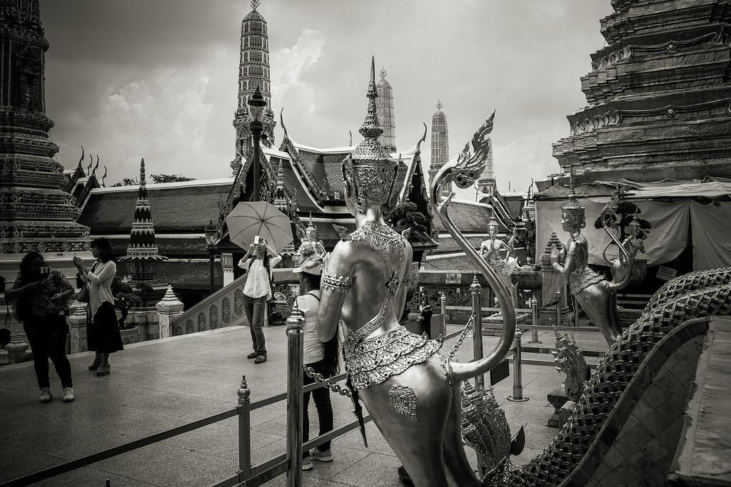 היופי המרשים של המלך בבנגקוק