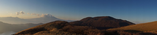 084 Mount Fuji vanaf mt Komagatake