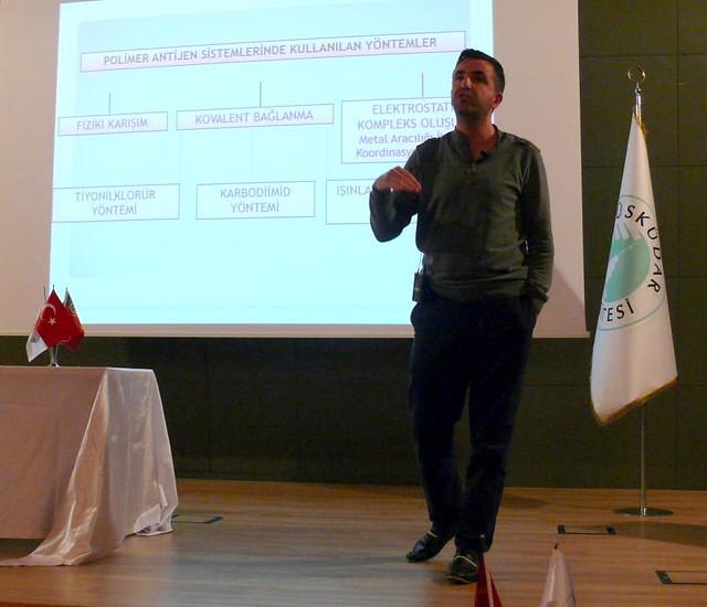 Yeni nesil aşı sistemleri ve Türkiye'de araştırma olanakları anlatıldı.