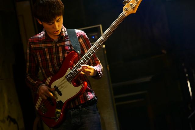 中野バンド live at Outbreak, Tokyo, 17 Jan 2015. 041