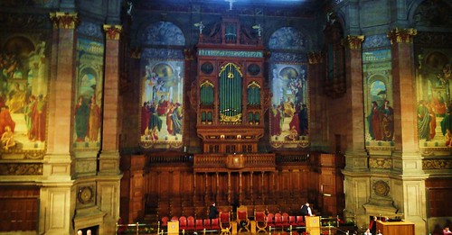 McEwan Corridor Organ & Mural Decorations …