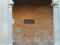 Photo of Thomas Hill Green black plaque