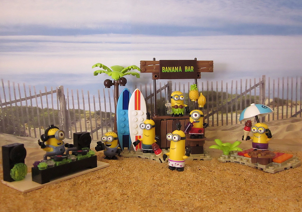 Minion Beach Party
