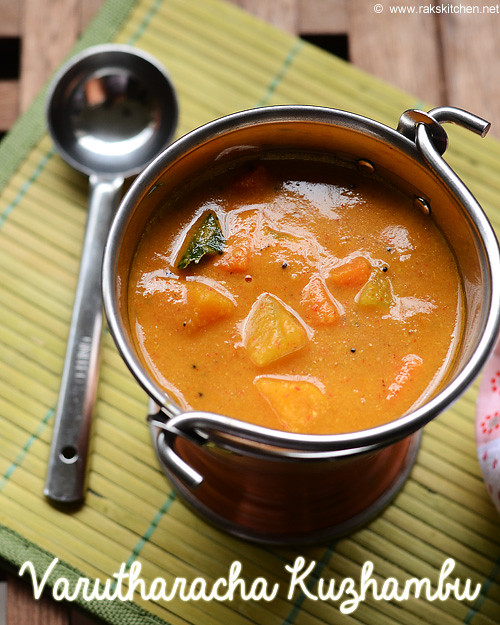 varutharacha-sambar