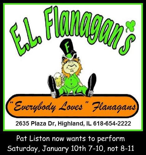 E L Flanagan's 1-10-15