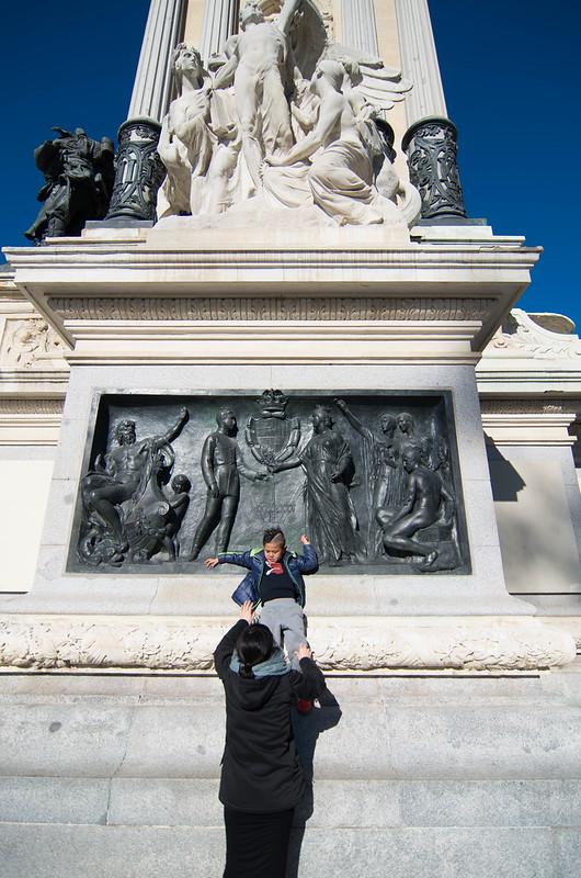 アルフォンソ12世の像
