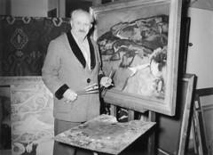 12-12-1951_10098 Jan Sluijters bijna 70