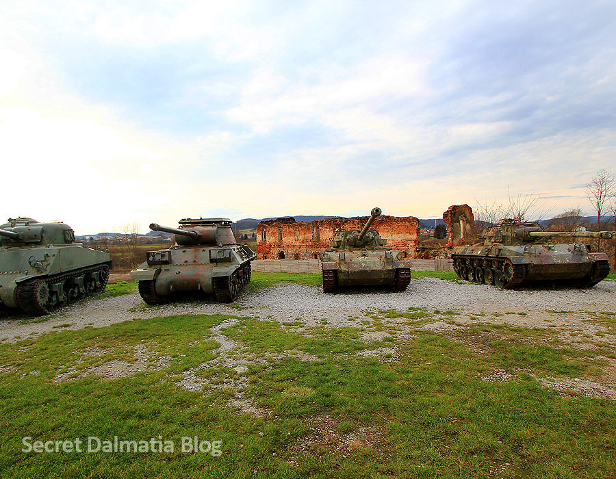 The tanks and self-propelled guns