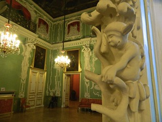 Image of  Stroganov Palace  near  Saint Petersburg. stpetersburg stroganoff санктпетербург stroganov stroganovpalace строгановскийдворец