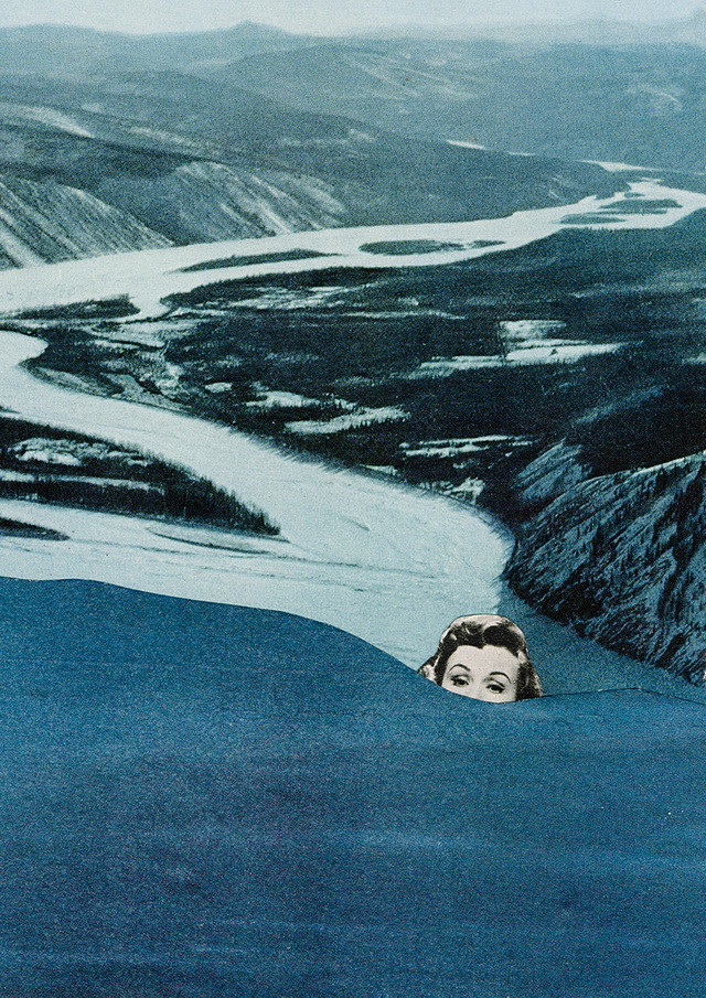 finding a way - collage by laura redburn