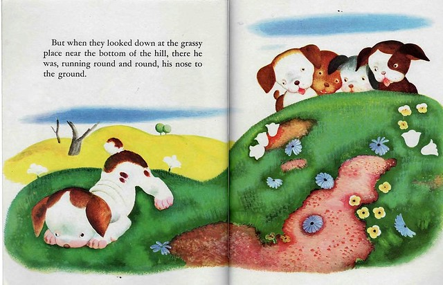 004a-Poky Little Puppy- Little Golden Book-ilustrado por Tenggren