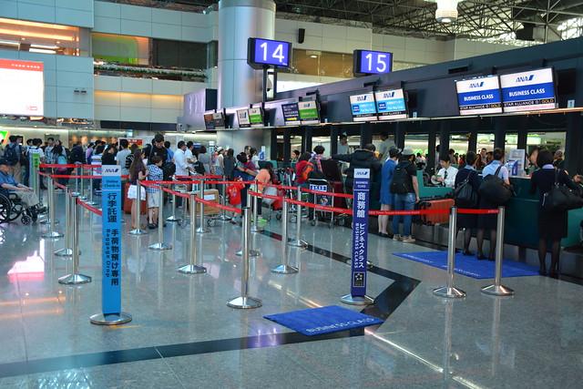 桃園國際機場:ANA報到櫃台