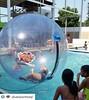 Nuestros clientes @diversionttotal en Colombia  atendiendo eventos! Ubicados en:round_pushpin:Rioacha - Guajira.  #aquaorb #esferasacuaticas #inflables #alquiler #eventos
