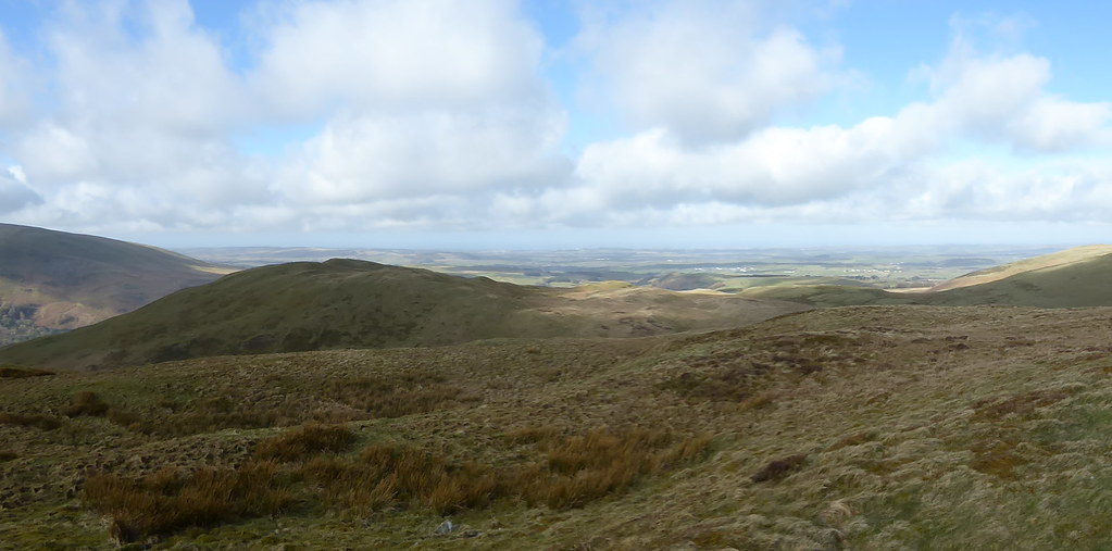 Northwest from Low Fell