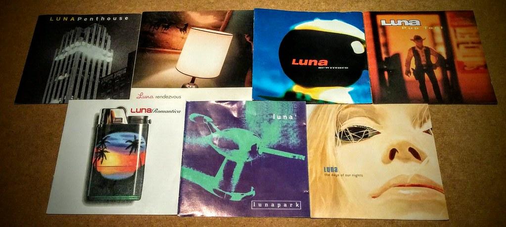 Luna's seven studio albums