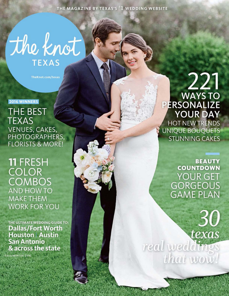 The Knot Texas Magazine - Fall-Winter 2016 - Mai + Aaron - Cover