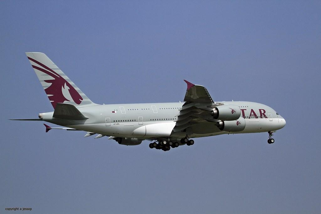 A7-APH - A388 - Qatar Airways