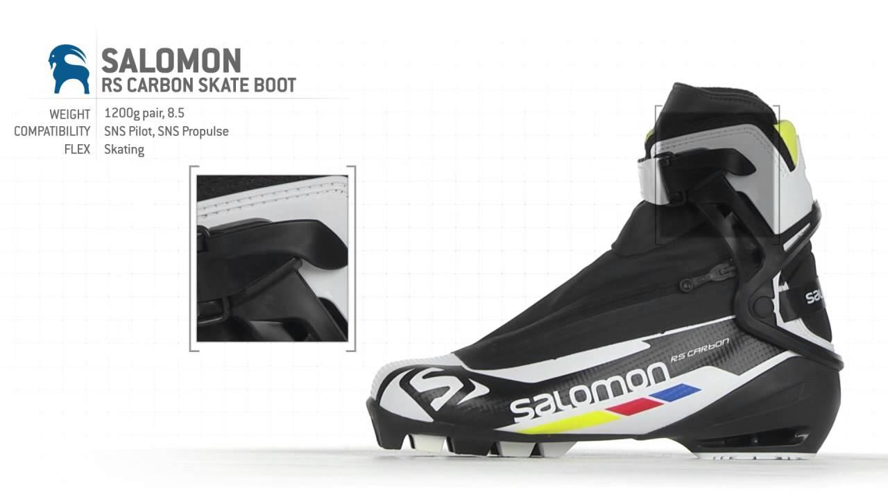 dc602f54f3c boty Salomon RS Carbon skate 43 1 3 - Bazar - Běžky.net