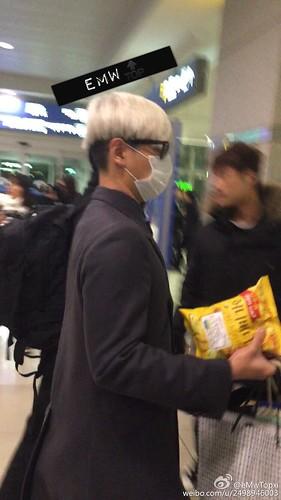 Big Bang - Incheon Airport - 31jan2015 - TOP - eMwTopxi - 04