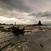 A wide view at Saltwick Bay. by Tall Guy