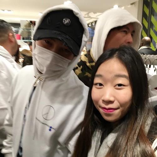 G-Dragon - Colette x Peaceminusone - 23jan2016 - chhhloezzff - 01