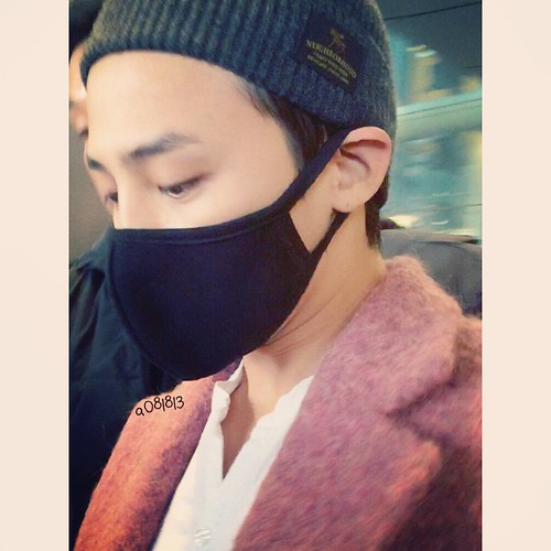 Big Bang - Incheon Airport - 22mar2015 - G-Dragon - a081813 - 01