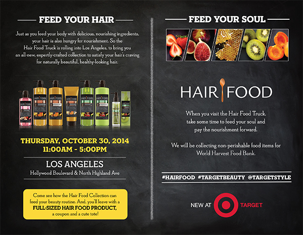 eatsleepwear, HairFood, LA, Target