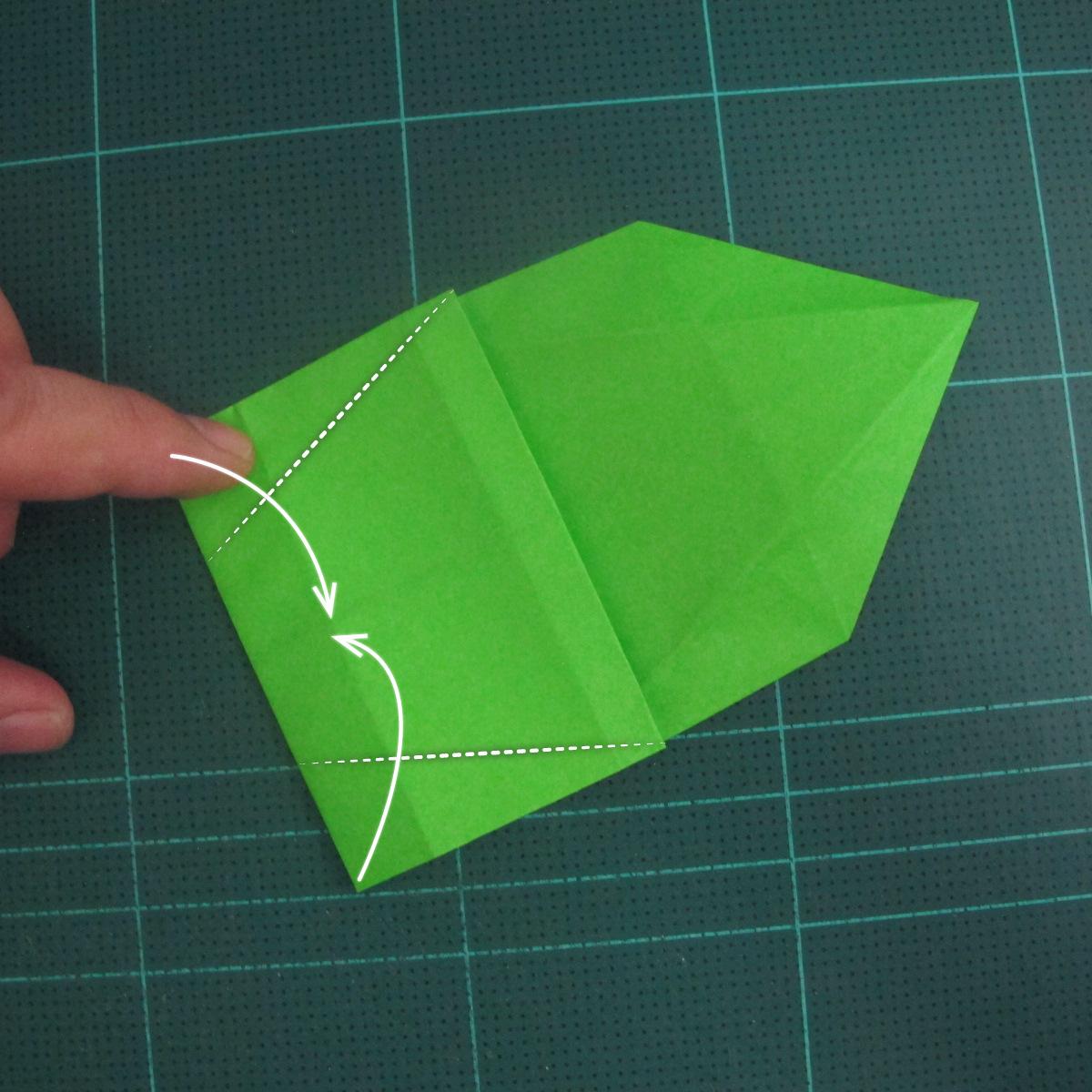 การพับกระดาษเป็นรูปแรด (Origami Rhino) 017