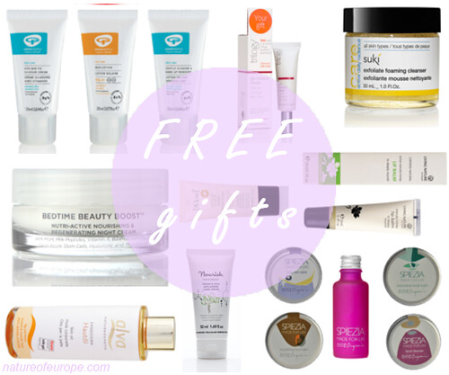Only Naturals Free Gifts
