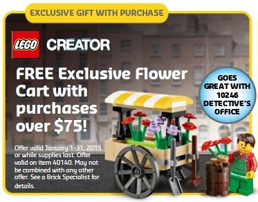 LEGO Creator Flower Cart 40140