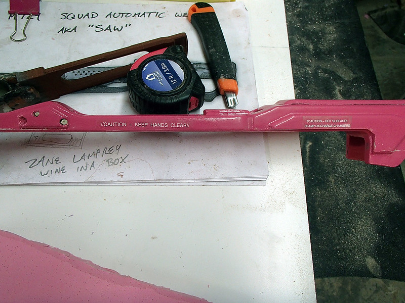 August 14 Lightning Gun label Test Progress 206
