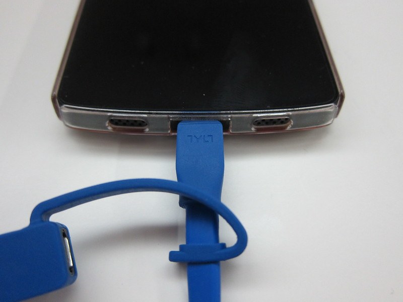 TYLT Syncable-Duo Charge & Sync Cable - Charging Nexus 5