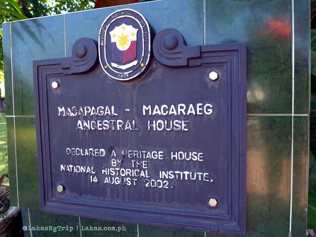 Macaraeg-Macapagal House in Iligan City, Philippines