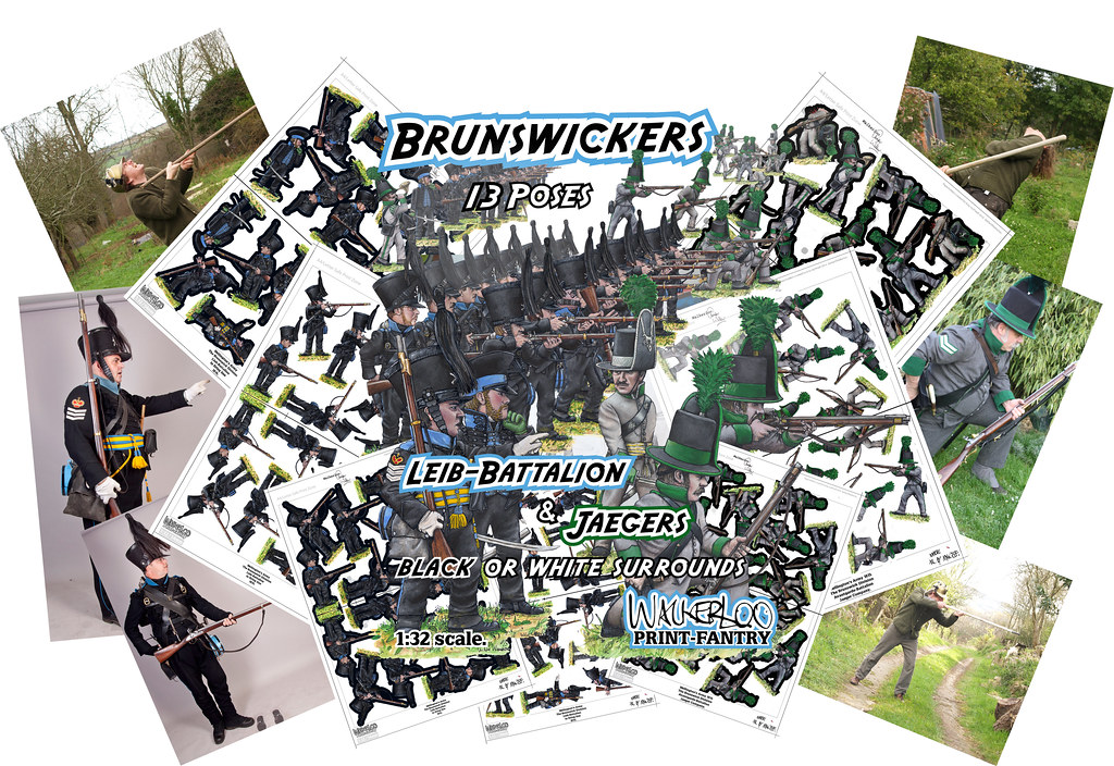 Brunswick Printfantry Collage