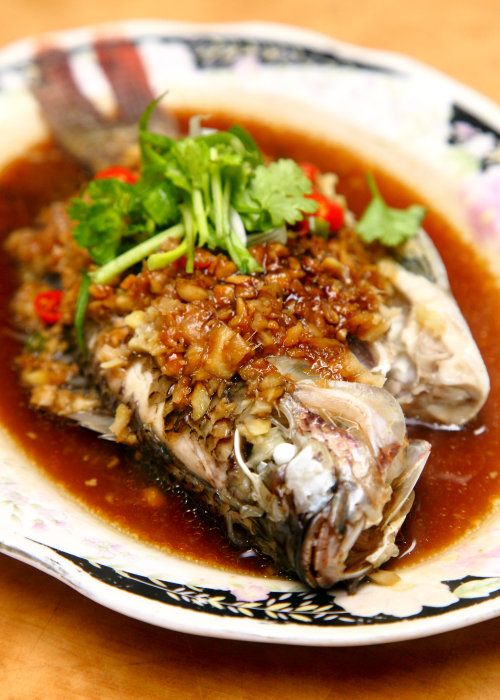 Lan Steamed-Black-Tilapia