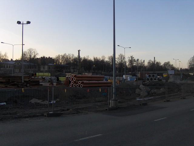 Hämeenlinnan moottoritiekate ja Goodman-kauppakeskus: Työmaatilanne 20.11.2011 - kuva 10