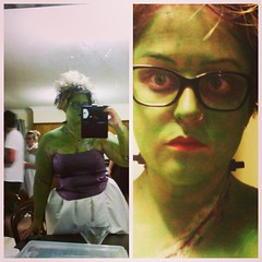 Frankenstein's Bride for Halloween.