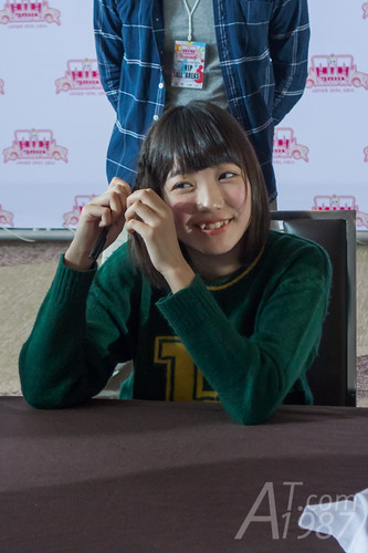 ANIME IDOL ASIA 2014 - Yumemiru Adolescence signing session