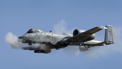 A-10 Thunderbolt II (photo: Wikimedia Commons)