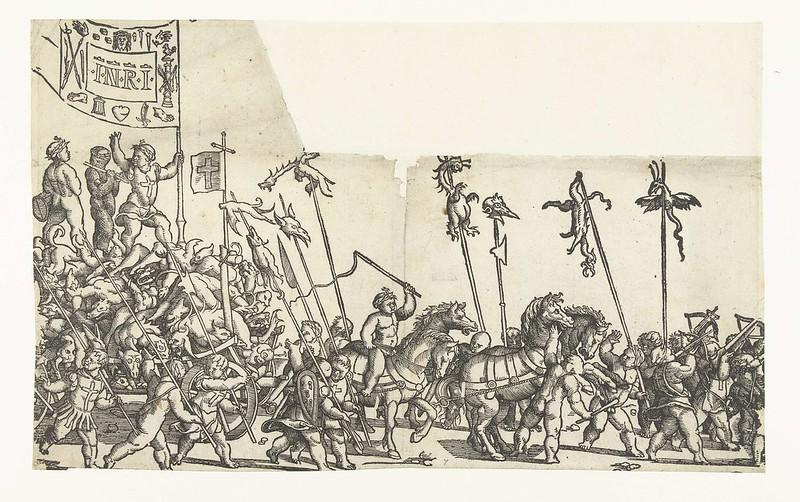 Monogrammist LIW - Children's Crusade (3) 1522 - 1532