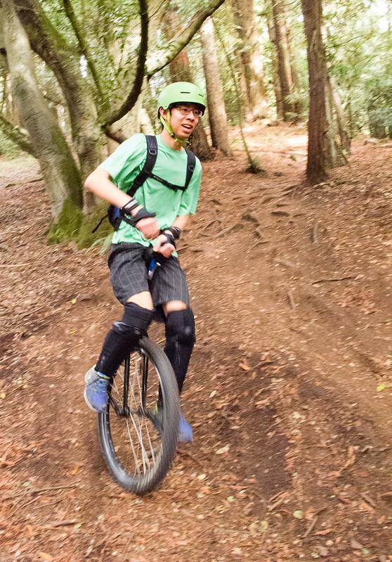 Harrison on Big Trees downhill