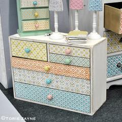 Sass & Belle printed drawers