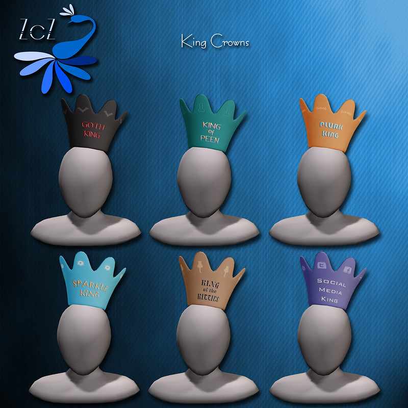 ZcZ Novelty Crowns Kings