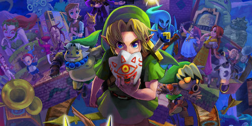 Zelda: Majora's Mask 3D announced along with a new trailer