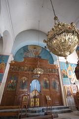Inside the Greek Orthodox Basilica of Saint George // Trip to Jordan