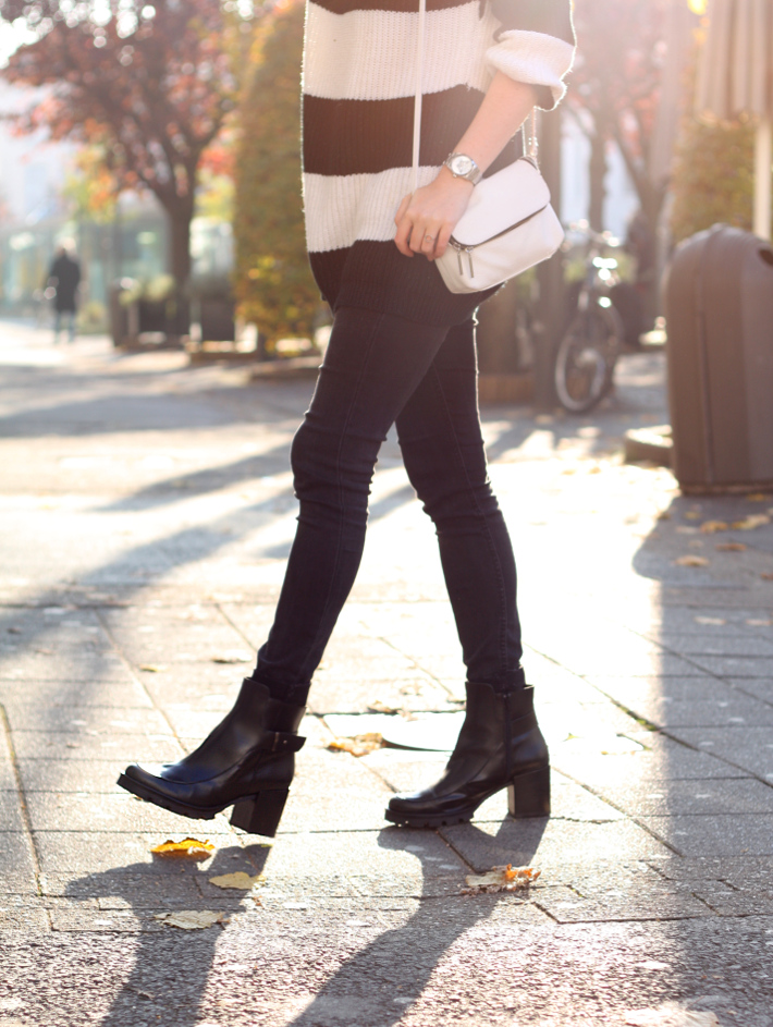 zign cleated platform boots outfit