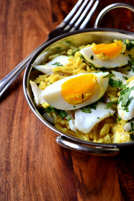 Recipe for Smoked Haddock Kedgeree