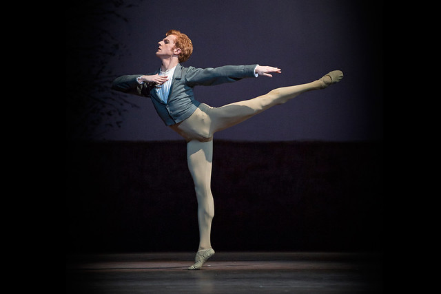 Steven McRae as Lensky in Onegin  © ROH / Bill Cooper 2013
