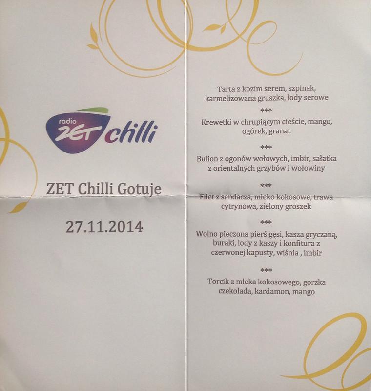 Kolacja Zet Chilli w Sheratonie