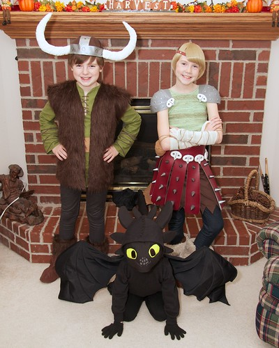 Halloween 2014 - How To Train Your Dragon